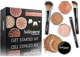 Parfüm, Parfüméria, kozmetikum Alap smink készlet - Bellapierre Get Started Kit Deep