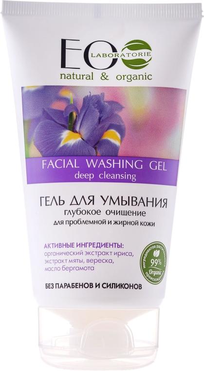 """Arctisztító gél """"Mély tisztítás"""" - ECO Laboratorie Facial Washing Gel — fotó N1"""