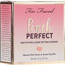 Parfüm, Parfüméria, kozmetikum Porpúder - Too Faced Peach Perfect Setting Powder Travel-Size
