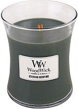 Parfüm, Parfüméria, kozmetikum Illatgyertya pohárban - WoodWick Hourglass Candle Evening Bonfire