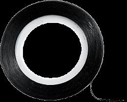 Parfüm, Parfüméria, kozmetikum Körömdíszítő csík, fekete - Peggy Sage Decorative Nail Stickers Noir
