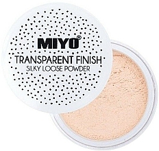Porpúder - Miyo Transparent Finish Powder — fotó N2