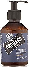 Parfüm, Parfüméria, kozmetikum Sampon szakállra - Proraso Azur Lime Beard Wash