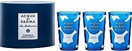Parfüm, Parfüméria, kozmetikum Acqua di Parma Blu Mediterraneo - Készlet (3xcandle/65g)