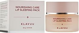 Parfüm, Parfüméria, kozmetikum Éjszakai ajakmaszk - Klavuu Nourishing Care Lip Sleeping Pack