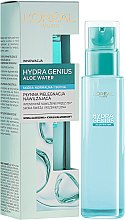 Parfüm, Parfüméria, kozmetikum Hidratáló arcápoló normál és száraz bőrre - L'Oreal Paris Hydra Genius Aloe Water