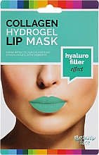 Parfüm, Parfüméria, kozmetikum Hidrogél kollagén ajakmaszk - Beauty Face Collagen Hydrogel Lip Mask Hyaluro Filler
