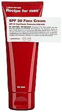 Parfüm, Parfüméria, kozmetikum Hidratáló arckrém napvédelemmel - Recipe For Men Facial Moisturizer SPF 30