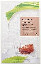 Parfüm, Parfüméria, kozmetikum Szövetmaszk csiganyál kivonattal - Mizon Joyful Time Essence Mask Snail