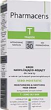 Parfüm, Parfüméria, kozmetikum Hidratáló krém problémás és pattanásos bőrre - Pharmaceris T Sebo-Moistatic Cream SPF30