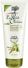"Parfüm, Parfüméria, kozmetikum Zuhany vaj ""Olíva olaj"" - Le Petit Olivier Shower Butter Olive Oil"