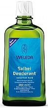 "Parfüm, Parfüméria, kozmetikum Dezodor ""Zsálya"" - Weleda Sage Deodorant Refill Bottle (tartalék blokk)"