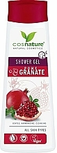 "Parfüm, Parfüméria, kozmetikum Ápoló tusfürdő ""Gránát"" - Cosnature Shower Gel Pomegranate"