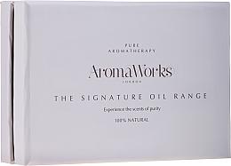 Parfüm, Parfüméria, kozmetikum Szett - AromaWorks Signature Oil Range (oil/4x10ml)