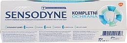 "Parfüm, Parfüméria, kozmetikum Fogkrém ""Komplex védelem "" fluorral - Sensopdyne Toothpaste"
