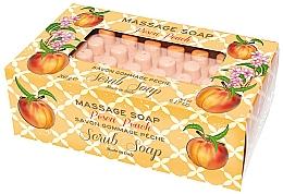 """Parfüm, Parfüméria, kozmetikum Szappan-radír masszázshoz """"Őszibarack"""" - Gori 1919 Massage Scrub Soap Peach"""