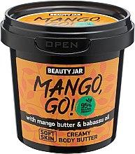 """Parfüm, Parfüméria, kozmetikum Testápoló krém """"Mango, Go!"""" - Beauty Jar Shimmering Creamy Body Butter"""
