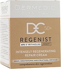 Parfüm, Parfüméria, kozmetikum Regeneráló éjszakai krém 50+ - Dermedic Regenist ARS 5 Retinolike Night Intensely Regenerating Repair Cream