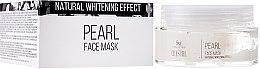 Parfüm, Parfüméria, kozmetikum Arcmaszk gyöngy kivonattal - SM Collection Crystal Pearl Face Mask