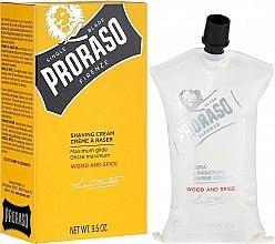 Parfüm, Parfüméria, kozmetikum Borotválkozó krém - Proraso Wood and Spice Shaving Cream