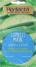 Parfüm, Parfüméria, kozmetikum Hidratáló arcmaszk aloe verával - Perfecta Express Mask
