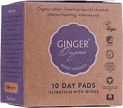 Parfüm, Parfüméria, kozmetikum Egészségügyi betét, 10 db - Ginger Organic