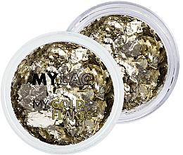 Parfüm, Parfüméria, kozmetikum Körömdíszítő arany részecskék - MylaQ My Gold Flakes