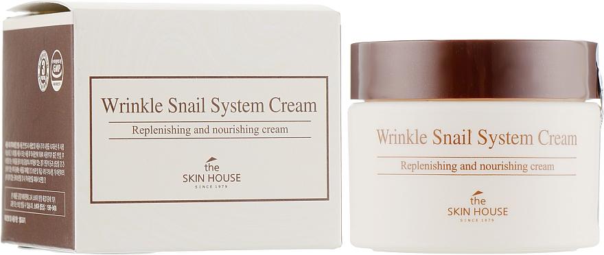 Öregedésgátló csigakrém - The Skin House Wrinkle Snail System Cream