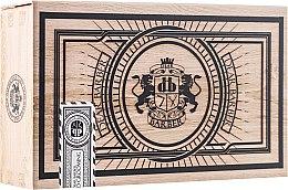 Parfüm, Parfüméria, kozmetikum Szakáll- és bajuszápoló készlet - Dear Barber Collection III Beard Grooming Set (oil/30ml + wax/25ml + comb/1 db.)