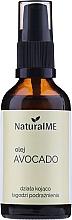 Parfüm, Parfüméria, kozmetikum Hidegen préselt avokádó olaj - NaturalME (pumpával)
