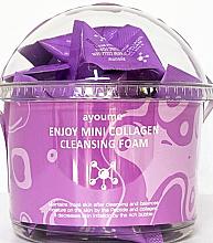 Parfüm, Parfüméria, kozmetikum Mosakodó hab kollagénnel - Ayoume Enjoy Mini Collagen Cleansing Foam