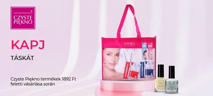 Czyste Piękno termékek 1892 Ft feletti vásárlása során kapj ajándékba táskát