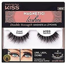 Parfüm, Parfüméria, kozmetikum Mágnesen műszempilla - Kiss Magnetic Lashes Double Strength KMEL 05 Crowd Pleaser