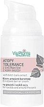 Parfüm, Parfüméria, kozmetikum Szemkörnyékápoló krém - Vis Plantis Atopy Tolerance Emollient Eye Cream
