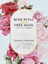 Parfüm, Parfüméria, kozmetikum Puhító maszk sarokbőrre - Petitfee&Koelf Rose Petal Satin Heel Mask