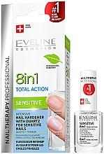 Parfüm, Parfüméria, kozmetikum Körömlakk - Eveline Cosmetics Nail Therapy Professional Sensitive