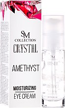 Parfüm, Parfüméria, kozmetikum Hidratáló ametiszt szemkörnyékápoló - SM Collection Crystal Amethyst Moisturizing Eye Cream