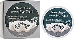 Parfüm, Parfüméria, kozmetikum Hidrogél szemtapasz fekete gyöngyökkel - Esfolio Black Pearl Hydrogel Eye Patch
