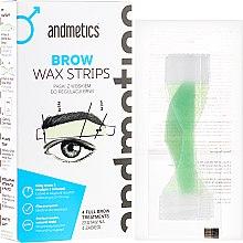Parfüm, Parfüméria, kozmetikum Szemöldökformázó gyantacsík - Andmetics Brow Wax Strips Men