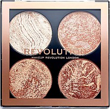 Parfüm, Parfüméria, kozmetikum Kontúrozó paletta - Makeup Revolution Cheek Kit