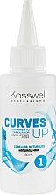 Parfüm, Parfüméria, kozmetikum Dauer szer természetes hajra - Kosswell Professional Curves Up 1