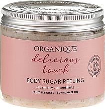 Parfüm, Parfüméria, kozmetikum Cukorpeeling testre - Organique Delicious Touch Body Sugar Peeling