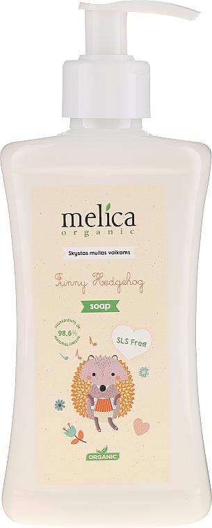 """Gyerek folyékony szappan """"Sün"""" - Melica Organic Funny Hedgehog Liquid Soap"""