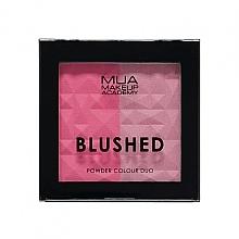 Parfüm, Parfüméria, kozmetikum Kettős arcpirosító - MUA Blushed Powder Colour Duo