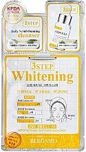 Parfüm, Parfüméria, kozmetikum Arcápoló maszk három lépésben - Bergamo 3-Step Whitening Mask Pack