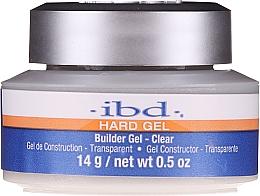 Parfüm, Parfüméria, kozmetikum Műköröm építő gél, átlátszó - IBD Hard Gel Builder Gel Clear