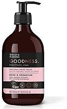 Parfüm, Parfüméria, kozmetikum Folyékony szappan - Baylis & Harding Goodness Rose & Geranium Natural Hand Wash