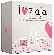 Parfüm, Parfüméria, kozmetikum Szett - Ziaja I Love Ziaja Marshmallow (b/peeling/300ml + h/cr/50ml + shower/gel/260ml + b/foam/250ml)
