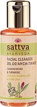 Parfüm, Parfüméria, kozmetikum Arctisztító gél - Sattva Facial Cleanser Sandalwood