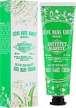Parfüm, Parfüméria, kozmetikum Kézkrém - Institut Karite So Chic Hand Cream Lily Of The Valley